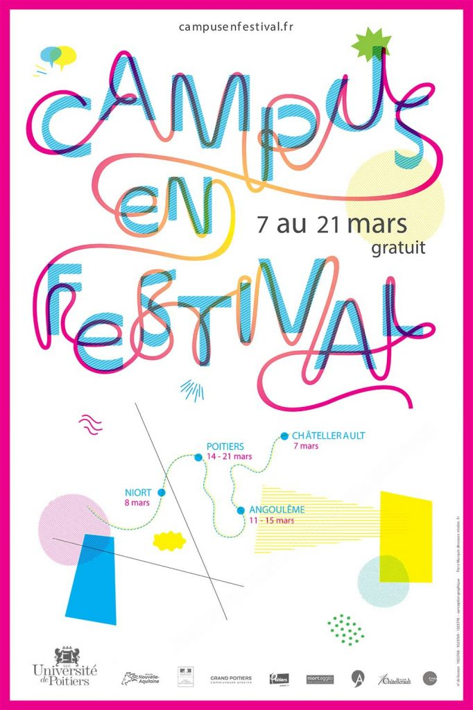 Affiche Campus en festival 2019