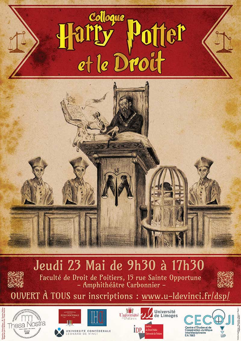 Colloque : Harry Potter et le droit