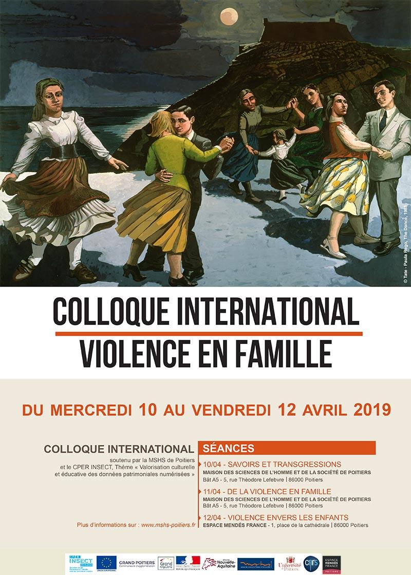 "Colloque ""Violence en famille"""
